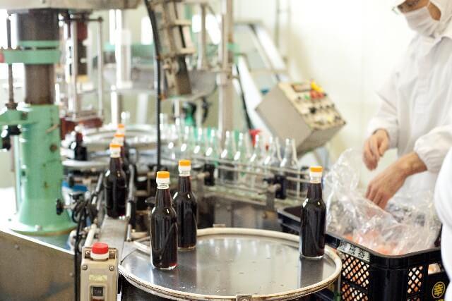 醤油ボトル製造ライン